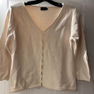 Light beige InWear sweater, size L